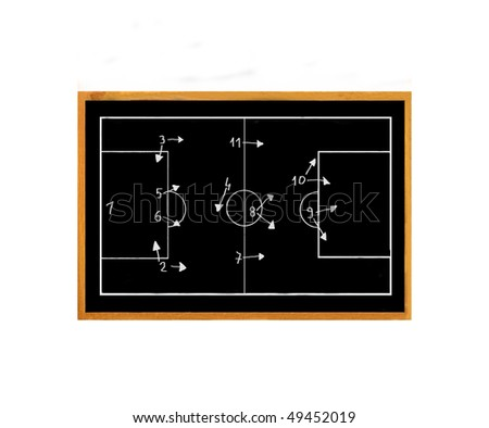 football black board