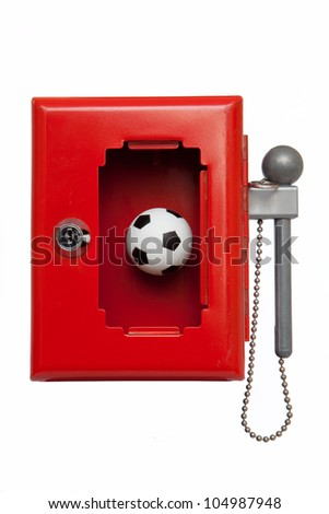 football emergency box - stock photo