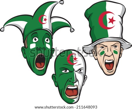 football fans from Algeria
