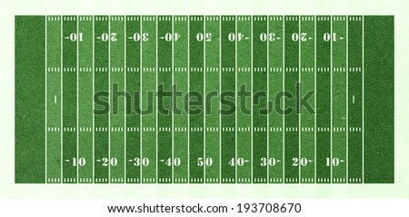 football field green paper - stock photo