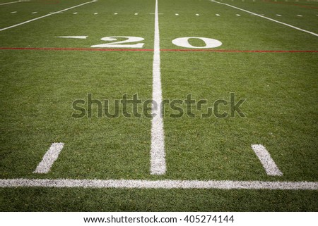 Football Field Markings