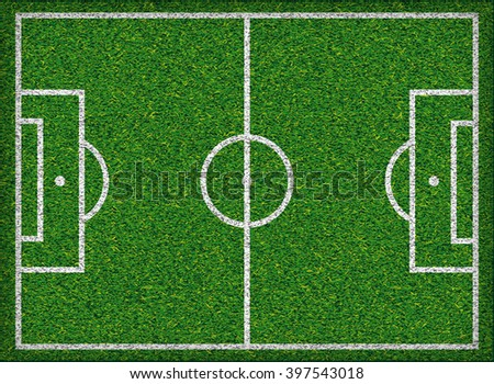 Football field Soccer concept Jpeg version - stock photo