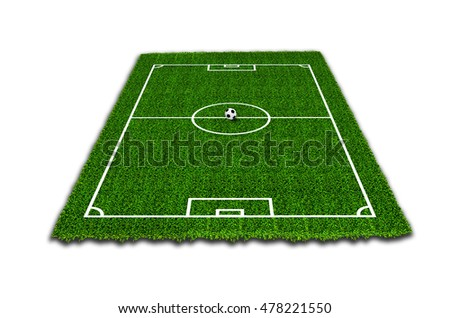 Football field Soccer concept Jpeg version