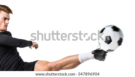 football man - stock photo