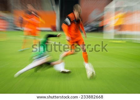Football match - stock photo