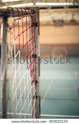 football or handball playground - stock photo