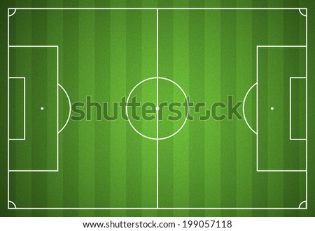 Football or soccer field background turf