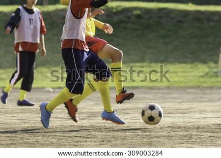football soccer - stock photo