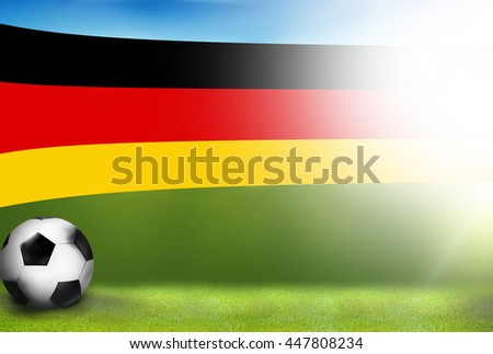 football soccer germany sports 3d render