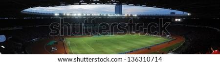 football stadium located in Indonesia - stock photo
