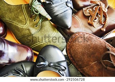 Footwear - stock photo