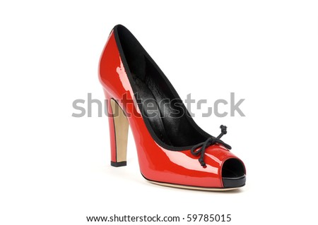 footwear isolated on a background
