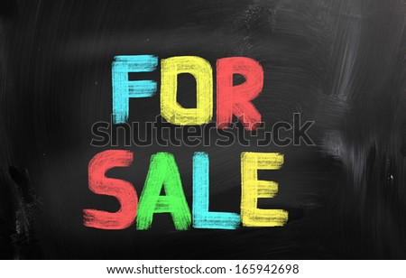 For Sale Concept - stock photo