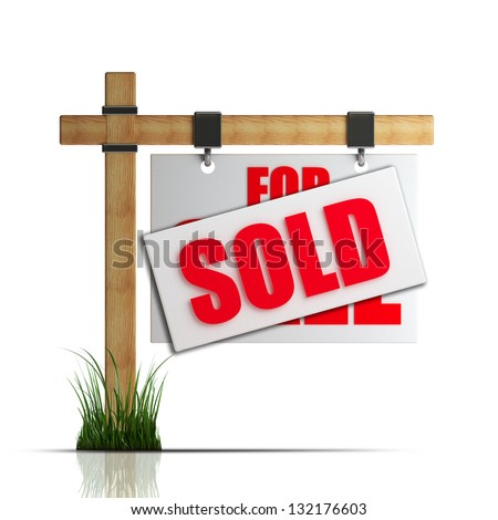 Image of Sold Sign Clipart #2300, Sold Sign Our House For Sale ...