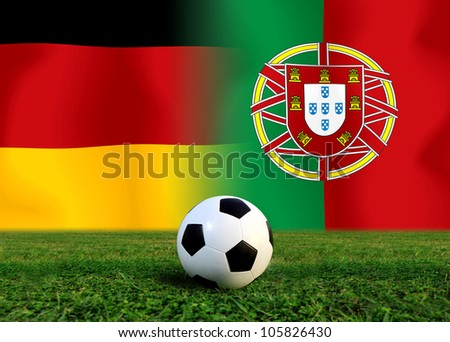 Forecast European Championship the  European cup four team last Competition between Portugal vs German