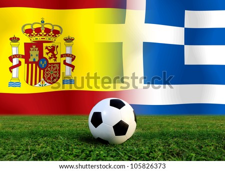 Forecast European Championship the  European cup four team last Competition between Spain vs Greece