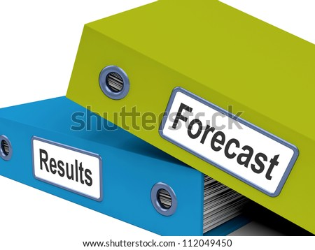 Forecast Results Files Showing Progress And Goals