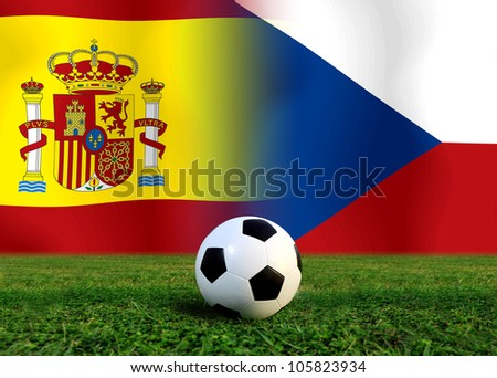 Forecast  Semi  Final the  European cup four team last Competition between Czech vs Spain
