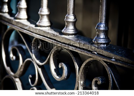 Forge Detail - stock photo