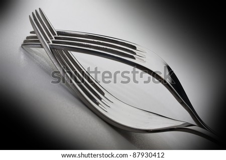 Forks - stock photo