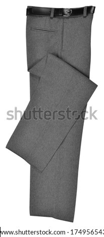 Formal trousers. Isolated