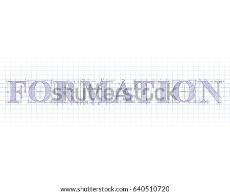 Wordformation Images RoyaltyFree Images Vectors – Print Graph Paper Word