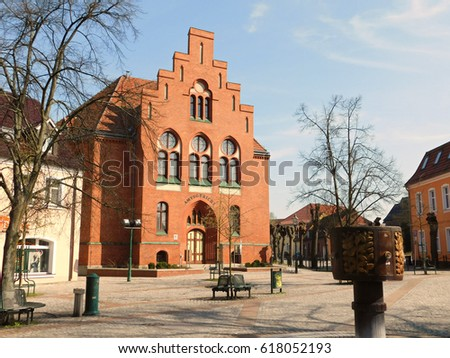 Former district court in Schwedt an der Oder