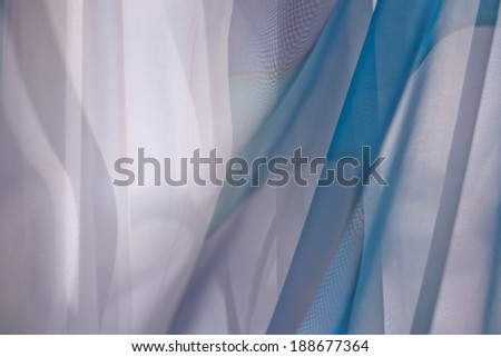 Formless colorful abstract background blue tones with smooth transitions - stock photo