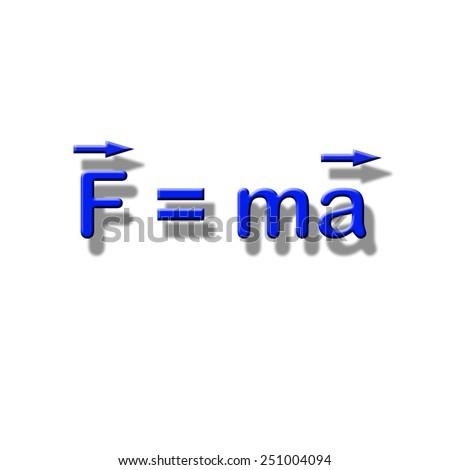 Formula - stock photo
