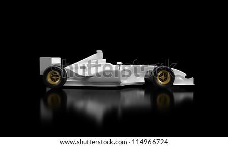 Formula 1 Car - design by me - stock photo
