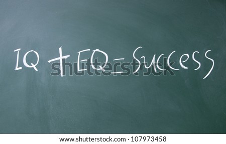 formula for success - stock photo