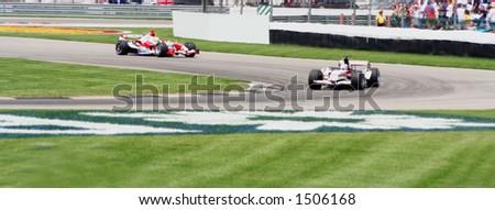 Formula One, Indianapolis 2006 - stock photo