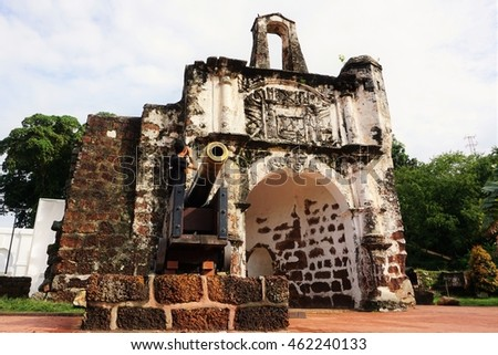 Fort A Famosa in Malacca