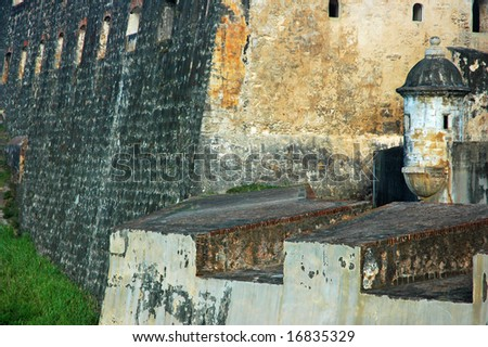 fort and turret, San Juan