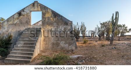 Fort Beekenburg in Curacao  - stock photo
