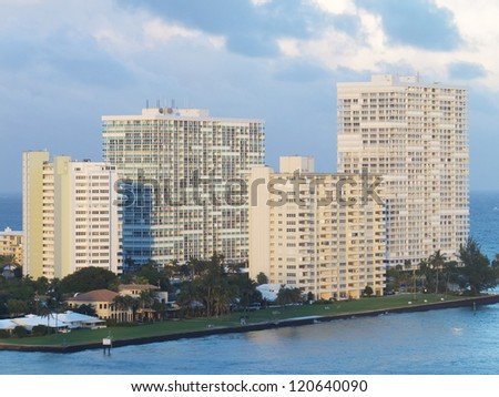 Fort Lauderdale in Florida - stock photo