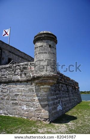 Fort Matanzas National Monument, St. Augustine, Florida - stock photo