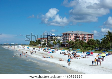 Fishing pier stock images royalty free images vectors for Fort myers beach fishing