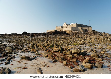 Fort Royale in Saint Malo, France. - stock photo