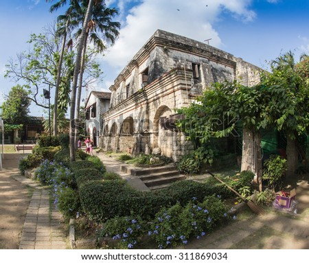 Fort Santiago,  Intramuros district of Manila , Philippines. - stock photo
