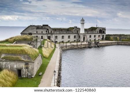 Fort Trekroner, Copenhagen, Denmark - stock photo