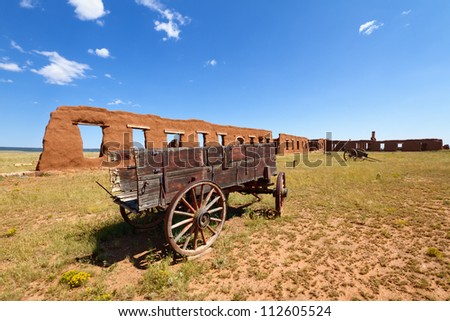 Fort Union National Monument - stock photo