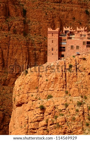 Fortification in Dades gorge, Morocco