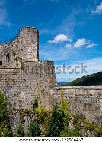 Fortified Citadel in a French Medieval City