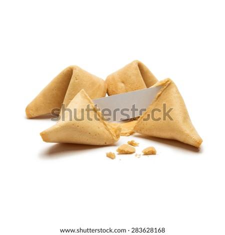fortune cookies - stock photo