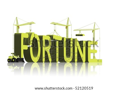 fortune making cash or credit be a winner and get rich dollar or euro gain wealth gamble take your chance and win money