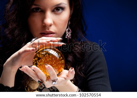 Fortune teller - stock photo