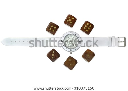 Fortune time - stock photo