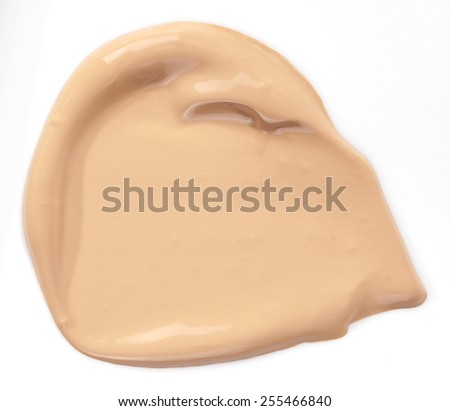 Foundation isolated over white background - stock photo