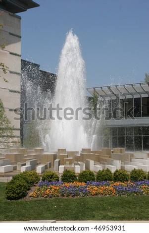 Fountain at IMA